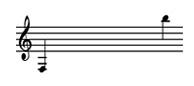 Range of the Double Tenor Pan