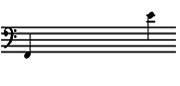 Range of Tenor Bass Pan