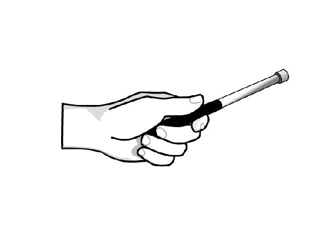 How to Grip a Pan Stick