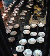 Conventional family of steel pans