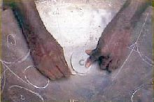 Making Steel Pan Step 2 - Marking